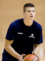 Dino Muric during practice session of Slovenian National Basketball team during training camp for Eurobasket Lithuania 2011, on July 12, 2011, in Arena Vitranc, Kranjska Gora, Slovenia. (Photo by Vid Ponikvar / Sportida)
