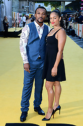Ashley Walters (left) and Danielle Isaie attending the Yardie premiere at the BFI Southbank in London.