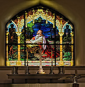 Stain Glass WIndow from a church in Shepherdstown West Vrginia