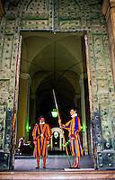Swiss Guard, Vatican City, Rome, Italy