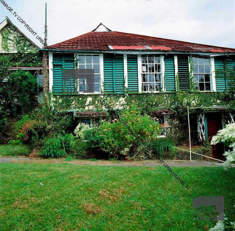 Old Strawberry Hill House Before Hurricane Gilbert - Jamaica