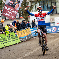 2020-01-05 Cycling: dvv verzekeringen trofee: Brussels: Dutch champion Ryan Kamp is the winner at the Brussels University  Cyclocross