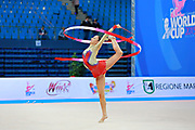 Castiglioni Lucia during qualifying at ribbon in Pesaro World Cup 11 April 2015.<br /> Lucia is a San Marino athlete born on May 28,1998 in San Marino..