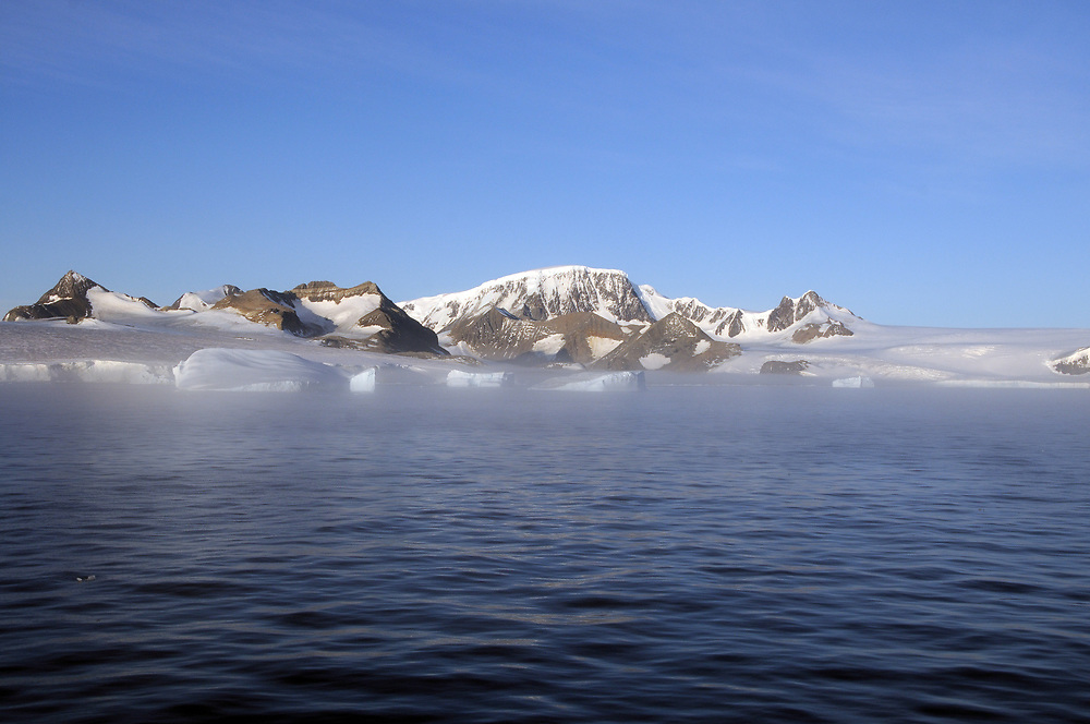 Hope Bay and the Hope Glacier.  Hope Bay, Antarctic Peninsula, Antarctica. 02Mar16