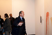 SIMON DE PURY, 'Engagement' exhibition of work by Jennifer Rubell. Stephen Friedman Gallery. London. 7 February 2011. -DO NOT ARCHIVE-© Copyright Photograph by Dafydd Jones. 248 Clapham Rd. London SW9 0PZ. Tel 0207 820 0771. www.dafjones.com.