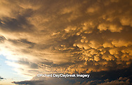 63891-02414 Mammatus clouds after storm,  Marion Co. IL