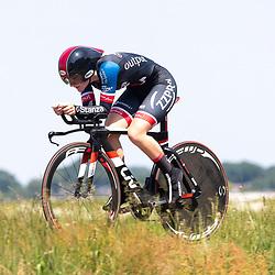 EMMEN (NED) June 16: <br />CYCLING <br />Dutch Nationals Time Trail Women Elite Lisa van Helvoirt
