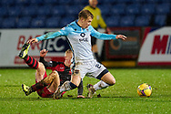 24 of Ross County Harry Paton brought to his knees during the Scottish Premiership match between Ross County FC and St Mirren FC at the Global Energy Stadium, Dingwall, Scotland on 26 December 2020
