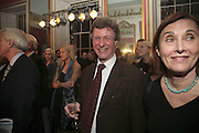 MICHAEL ALCOCK, Literary Review's Bad Sex In Fiction Prize.  In & Out Club (The Naval & Military Club), 4 St James's Square, London, SW1, 29 November 2006. <br />