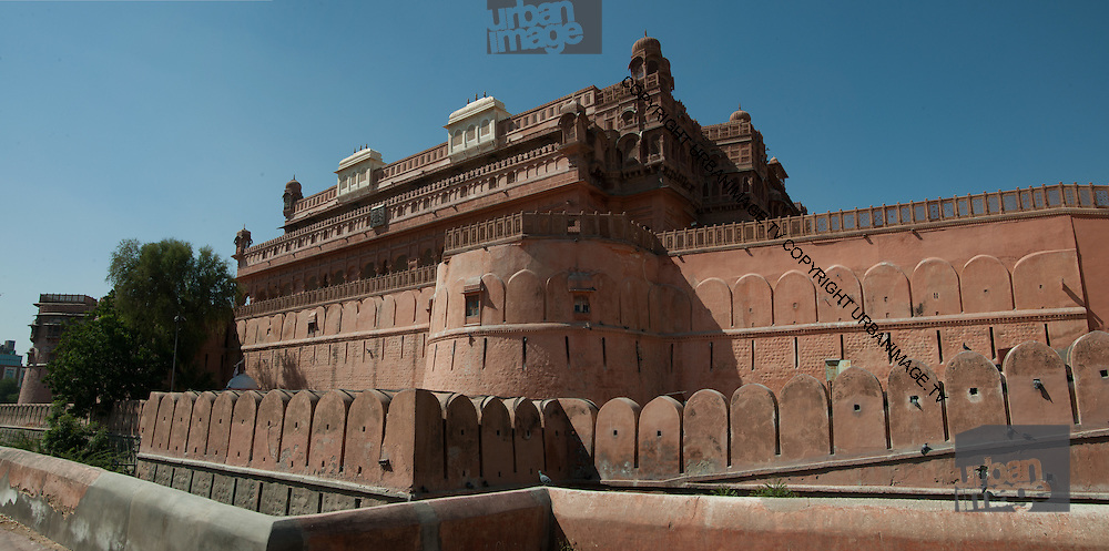 Panorama of Junagadh Fort - Jaisalmer India 2011