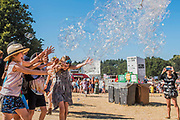Bubbles inc continues to entertain the kid - The 2018 Latitude Festival, Henham Park. Suffolk 14 July 2018
