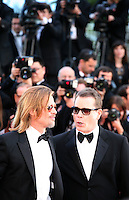 Brad Pitt and Ray Liotta at the Killing Them Softly gala screening at the 65th Cannes Film Festival France. Tuesday 22nd May 2012 in Cannes Film Festival, France.