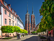 Archikatedra Wrocławska pod wezwaniem św. Jana Chrzciciela - gotycki kościół na Ostrowie Tumskim we Wrocławiu