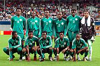 Fotball <br /> FIFA World Youth Championships 2005<br /> Nederland / Holland<br /> Foto: ProShots/Digitalsport<br /> <br /> nigeria - sør-korea, emmen, 15-06-2005<br /> <br /> teamfoto nigeria<br /> john obi mikel