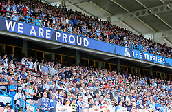 Huddersfield Town fans in the stands