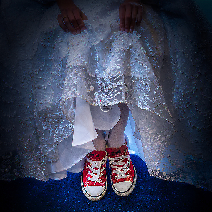 The Bride Wore Sneakers
