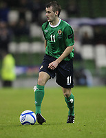 Football - Carling Nations Cup - Scotland v Northern Ireland<br /> Niall McGinn of Northern Ireland in action during the Scotland v Northern Ireland Carling Nations Cup at The Aviva Stadium