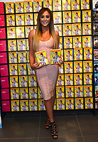 Charlotte Crosby signs copies of her new fitness DVD, Charlotte's 3 Minute Bum Blitz at HMV Westfield in London, England. 4th January 201