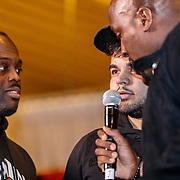 NLD/Almere/20190117 - Stare down van Boxing Influencers, Ezkimo