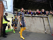 Arsenal's Alexis Sanchez and Olivier Giroud come out for warm up late during the Premier League match at Selhurst Park Stadium, London. Picture date: April 10th, 2017. Pic credit should read: David Klein/Sportimage