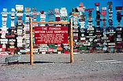 CS00389-01. Watson Lake Signposts. August 1969