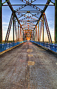 The Old Chain of Rocks Bridge near St. Louis, Missouri along Route 66. Missoula Photographer