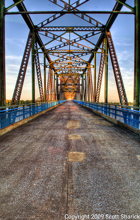 The Old Chain of Rocks Bridge near St. Louis, Missouri along Route 66. Missoula Photographer