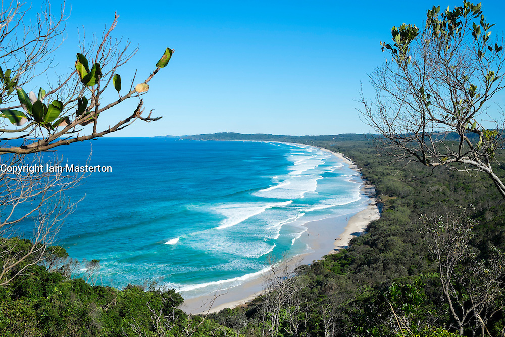 Tallow Beach at Byron Bay in New South Wales Australia