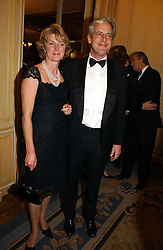 LORD & LADY MARGADALE at the Cartier Racing Awards 2006 held at the Four Seasons Hotel, Hamilton Place, London on 15th November 2006.<br />