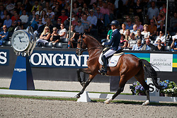 Cornelissen Adelinde, NED, Henkie<br /> Longines FEI/WBFSH World Breeding Dressage Championships for Young Horses - Ermelo 2017<br /> © Hippo Foto - Dirk Caremans<br /> 06/08/2017