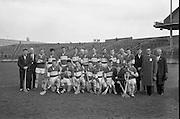National League Semi-Final, Laois v Antrim. Laois Team..05.04.1964