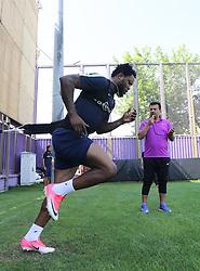 August 8, 2017 - Ankara, Türkiye - Turkish Super League team Osmanlıspor's Nigerian midfielder Adewole Raheem Lawal. (Credit Image: © Depo Photos via ZUMA Wire)