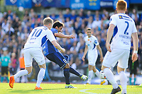 Fotball , Tippeligaen , Eliteserien <br /> 21.08.16 , 20160821<br /> Stabæk - Aalesund<br /> Stabæks Nicholas Holland Grossman scorer sitt mål til 1-0 <br /> Foto: Sjur Stølen / Digitalsport
