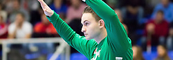 06.01.2017, BSFZ Suedstadt, Maria Enzersdorf, AUT, IHF Junior WM 2017 Qualifikation, Ungarn vs Österreich, im Bild Boris Tanic (AUT) // during the IHF Men's Junior World Championships qualifying match between Hungary and Austria at the BSFZ Suedstadt, Maria Enzersdorf, Austria on 2017/01/06, EXPA Pictures © 2017, PhotoCredit: EXPA/ Sebastian Pucher