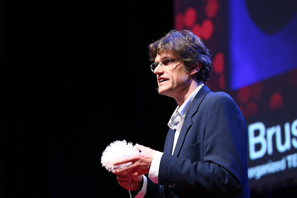 Session IV : Made in Brussels , made in Belgium - 28 October 2013<br /> <br /> Steven Laureys , Head , Coma Science Group<br /> <br /> TEDX BRUSSELS 2013 - Belgium - Brussels - October 2013 © TEDx Brussels/Scorpix