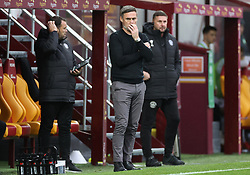 Motherwell coach Graham Alexander looks on during the cinch Premiership match at Fir Park, Motherwell. Picture date: Saturday October 16, 2021.