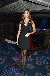 JOANNE SALLEY at the Chain of Hope Gala Ball held at The Grosvenor House Hotel, Park Lane, London on 18th November 2016.