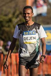BAA 5K road race Dejen Gebremeskel, Ethiopia