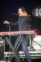 Scouting for Girls live at the Pub in the Park's drive in Garden Party Henley photo by Mark Anton Smith