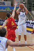 Trento 27 Luglio 2012 - Trentino Basket Cup - Italia Montenegro - <br /> Nella Foto : DANILE CAVALIERO<br /> Foto Ciamillo/M.Gregolin