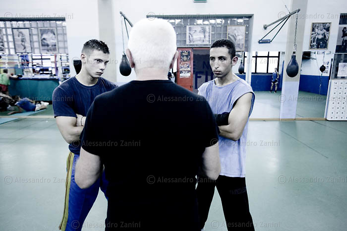 Boxing Training in Bologna 2007