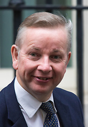 Downing Street, London, September 15th 2015.  Chief Whip Michael Gove leaves 10 Downing Street after attending the weekly cabinet meeting
