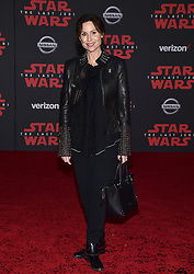 Minnie Driver attends the world premiere of Disney Pictures and Lucasfilm's 'Star Wars: The Last Jedi' at The Shrine Auditorium on December 9, 2017 in Los Angeles, CA, USA. Photo by Lionel Hahn/ABACAPRESS.COM