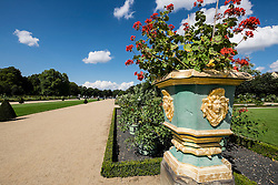 Gardens of the Schloss Charlottenburg Berlin Germany