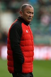 England head coach Eddie Jones before the Autumn International at Twickenham Stadium, London.