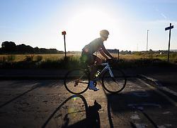 © Licensed to London News Pictures. 23/06/2017. <br /> BLACKHEATH, UK.<br /> Morning sunrise on Blackheath Common, Blackheath.<br /> Photo credit: Grant Falvey/LNP