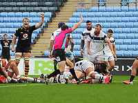 Rugby Union - 2019 / 2020 Gallagher Premiership - Semi-final - Wasps  vs Bristol Bears - Ricoh Stadium<br /> <br /> Jack Willis of Wasps gores over for his first Half try<br /> <br /> COLORSPORT/ANDREW COWIE
