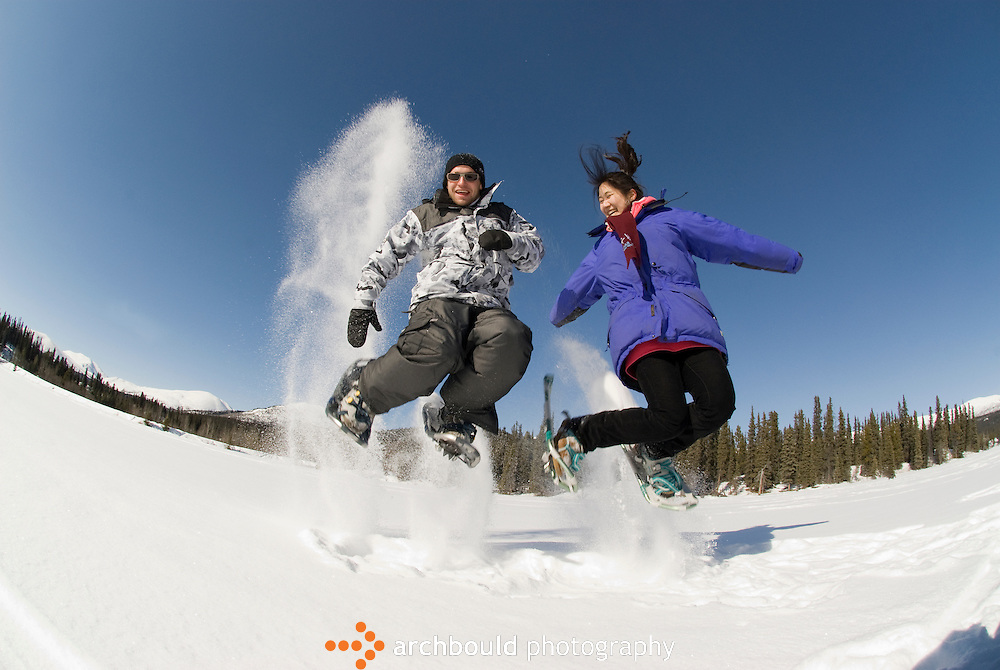 Snowshoeing in the Yukon<br /> <br /> NOT IN YOUR BUDGET? Contact Cathie for a price specific to your project.