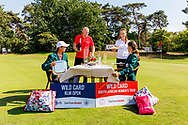 21-07-2018 Pictures of the final day of the Zwitserleven Dutch Junior Open at the Toxandria Golf Club in The Netherlands.  Tradional dinner for the winners with KAEWKANJANA, Sadom (TH) and SOHIER, Anouk (NL)