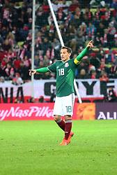 November 13, 2017 - Gdansk, Poland - Andres Guardado during the international friendly soccer match between Poland and Mexico at the Energa Stadium in Gdansk, Poland on 13 November 2017  (Credit Image: © Mateusz Wlodarczyk/NurPhoto via ZUMA Press)